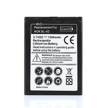 For Nokia 1500mah Phone Replacement Commercial Battery BL-4D N97 Mini N8 N8-00 E5 E5-00 E7 E7-00 Rechargeable Battery Bateria