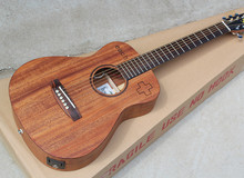 "34""Acoustic Guitar with Fishman Pickup,Mahogany Body,Chrome Hardwares,""Each"" Pattern,Offer Customized"