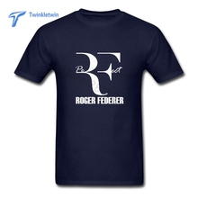 Interesting Subject Roger Federer T Shirts Design For Males 2017 Sale Pure Cotton Casual Summer Roger Federer Perfect T-shirts(China)