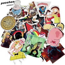 25Pcs/lot Funny Anime Gravity Falls Waterproof Sticker For Laptop Waterproof Laptop Motorcycle Skateboard Luggage Decal Toy(China)