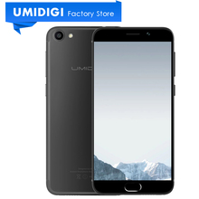 New Umidigi G 5.0 inch Android Phone MTK6737 Quad-core 2GB RAM 16GB ROM Google Phone 4G LTE Compact Global Mobile Phone(China)