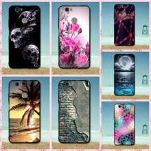 For Huawei Nova Cases Cover Luxury Flower Cartoon Soft Silicon Rubber TPU Case For Huawei Nova Cellphone Cover Bags