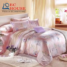 Excellent home textile and genuine treasure 100% sided Tencel four piece super soft naked bedding quilt special offer(China)