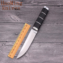 Survival Camping Practical Tactical Fixed Knife Outdoor Rescue Portable Hunting Men's diving Knife EDC fight Multifunction Tools