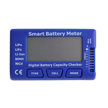 Blue 5 in 1 Smart Battery Analyzer Detector Meter Multicopter Rotor Accessory Battery Capacity Tester Checker Upgraded Version(China)