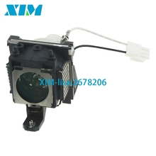 compatible MP610 MP610-B5A MP611 MP611C MP615 MP620 MP620C MP620P MP721 MP721C PD100D W100 for BenQ projector lamp with housing(China)