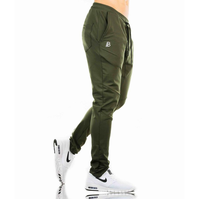 2018-Autumn-new-mens-cotton-Sweatpants-gyms-Fitness-workout-solid-trousers-male-Casual-fashion-Pencil-Pants (2)