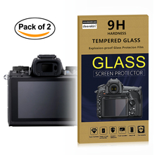 2x Self-Adhesive 0.3mm Glass LCD Screen Protector for Canon EOS M M2 M3 M5 M6 M10 Mirrorless Digital Camera(China)