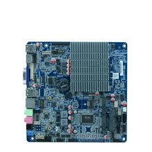 Celeron Processor J1900 motherboard with 2*LVDS, 4G ddr3 mini computer motherboard, nano itx motherboard 2.0GHZ(China)