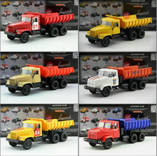 High simulation Russian truck model,1: 43 alloy dump truck toy,diecast metal,classic collection model,free shipping
