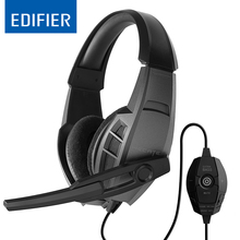 EDIFIER G3 Professional USB Gaming Headset 40mm Driver Dynamic Headphone High Quality With Super Bass Hifi Stereo Music Headband(China)