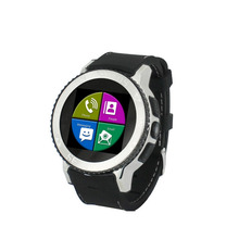 IP67 mobile Smart Watch Phone Waterproof Android 4.4 GPS Wifi MTK6572 Dual Core Bluetooth cell phones 3G smartwatch(China)