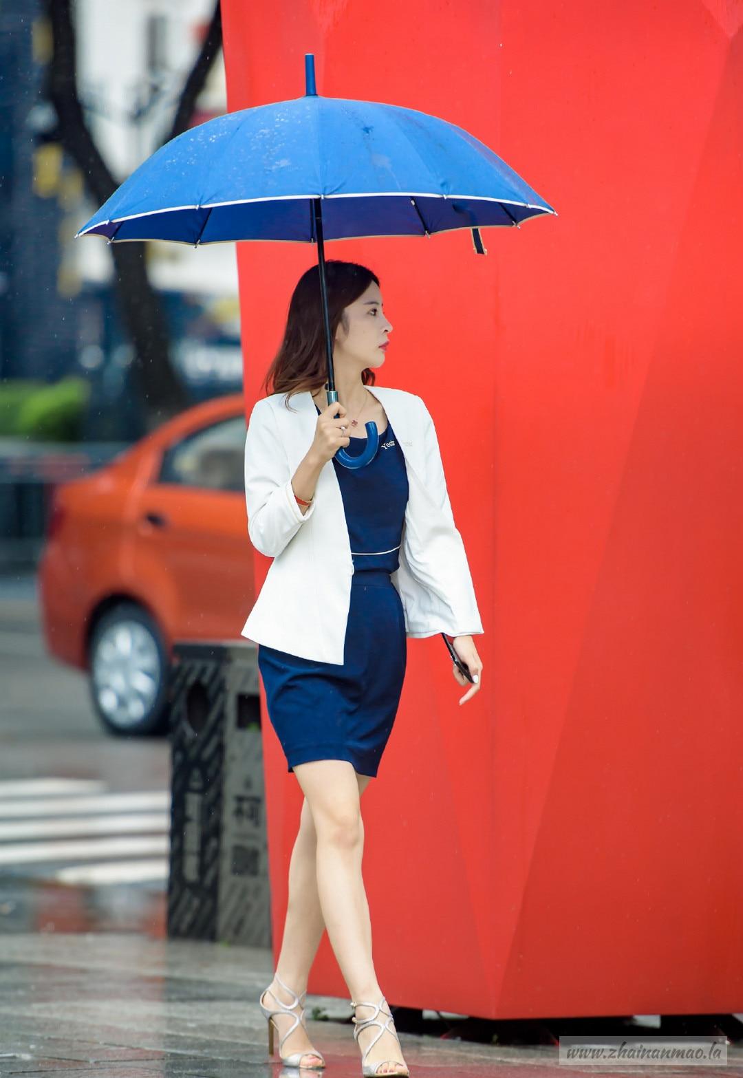 街拍:优雅的白领丽人范!