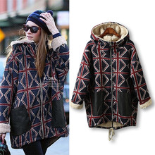 2017 New Fashion Women Parkas Casual Slim Winter Thicken Cotton Hoodie Cashmere Coat Hooded Long Padded Overcoat Plus Size 5XL