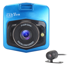"Car-Styling 2.3"" Car DVR Camera Recorder Dual Lens Full HD 1080P LCD With Motion Detection Night Vision Dash Camera Camcorder(China)"