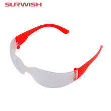 Surwish Children Kids Anti-explosion Dust-proof Protective Glasses Outdoor Activities Safety Goggles - Red