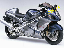 Hot Sales,For SUZUKI Hayabusa GSXR 1300 GSX R1300 99-07 GSX-R1300 Blue silver 1999-2007 Motorcycle Fairing (Injection molding)
