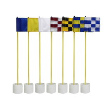 1set Backyard  Golf Practice set Golf Hole Pole Cup Flag Stick Putting Green Flagstick with 7 colors for choice