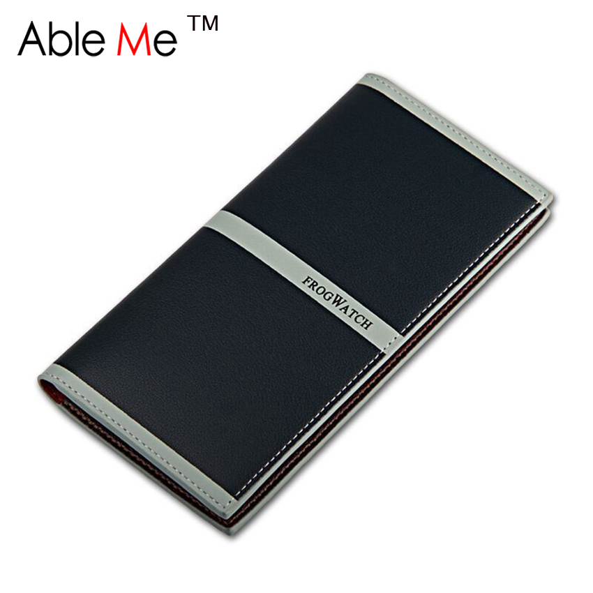 Hot Sale Men Wallets Unisex PU Leather Two Layer Folded Travel Carring Long Wallets Scratch-Resistant Waterproof Soft Coin Purse<br><br>Aliexpress