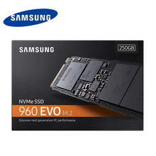 250G SAMSUNG 960 EVO M.2 SSD 250GB Internal  Solid State Hard Disk for Laptop PC Computer