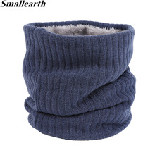 Plush Scarf Ring-Scarves Mufflers Collar Neck-Warmer Knitted Girl Thick Winter Boys Children