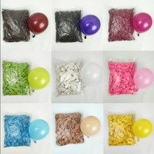 Buy 5 inch 1.2g multi-color balloon wedding decoration helium balloon birthday party supplies inflatable toy ball 100pcs latex balon for $5.62 in AliExpress store