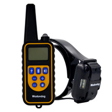 800M pet dog training collar electric shock collar for dogs IP7 diving waterproof remote control dog device charging LCD Display