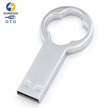 Shandian Metal Bottle opener Originality Pen Drive USB Flash Drive 64gb 32gb 16gb 8gb Pendrive Memory Stick Storage Device UDisk(China)