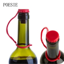 1pcs Kitchen Anti-lost Silicone Hanging Button Seasoning Beer Wine Cork Stopper Plug Bottle Cap Cover Kitchen Tools