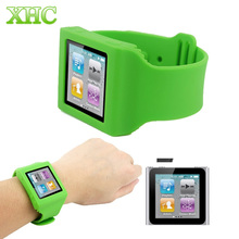 For iPod nano 6 Protector Silicone Case / Watch Band Full Protection Covers