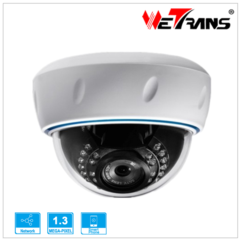 HD Cheap IP Cam Security Camera Megapixel Infrared IR Dome Plastic Case 1.3MP 960P Day/Night Web IP Camera IP13ED225<br><br>Aliexpress