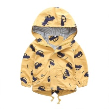 Fashion Boys clothes jacket coat Spring jacket for baby kids cotton fish print hoodies coat children boys tops outwear