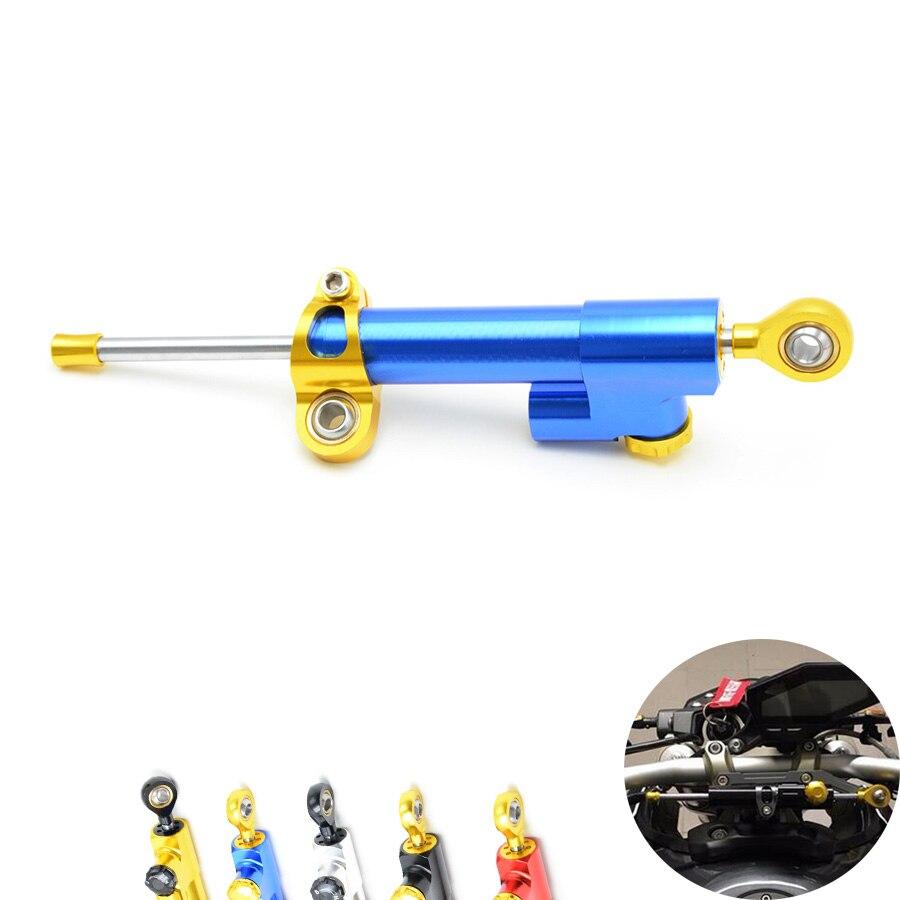 for moto CNC Damper Steering StabilizerLinear Reversed Safety Control Over for mt 07 yamaha mt 09 mt09 harley 883 diy kit z1000<br>
