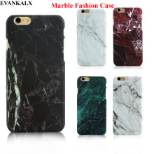 EVANAKLX Matte Feel Cheap Marble Phone Case for iPhone 5 5s SE 6 6S 6 7 8 Plus Hard PC Case Ultra-thin Screen Protector Case(China)
