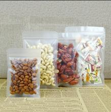 New 30*40cm Clear Zip Lock Pouch , Snack Food Dried Fruit Nut Packing Bag