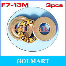 Buy 3pcs RC Models F7-13M 7*13*4.5mm Plane Thrust Ball Bearing Miniature Ball Thrust Bearing rail for $1.10 in AliExpress store