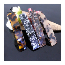 2017 new simple spring clip French cellulose acetate Hair Clip Barrette 9 cm Long Office Daily Hair Clip For Women Girls Tiara