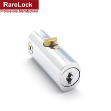 LHX GJA41 Cylindricity High Security Cabinet Drawer Locks Zinc Alloy Furniture Door Lock(China)