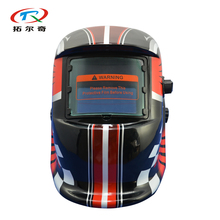 Fast Shipping auto Darkening welding helmet mask solar Power welder helmet face welding mask manufacturer price HD02(2233FF)