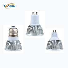 Retail 9W 12W 15W led lamp E27 GU10 MR16 E14 GU5.3 B22 dimmable led bulbs 85-265V MR16 12V led spot light