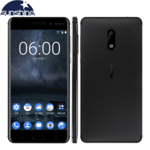 "2017 Original Nokia 6 4G LTE Mobile Phone Android 7.0 Octa Core 5.5"" 16.0 MP 4G RAM 32G/64G ROM Dual Sim Fingerprint Smartphone(China)"