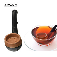 High-Quality Silicone pipe Shape Tea Infuser Leaf Herb Spiece  Makers Bag Mug Filter The kitchen gadget Tea Leaf Strainer