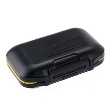 New arrival Waterproof Fishing Box Tool Portable Fishing Tackle Case Set - Black