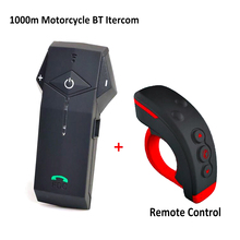 1set FreedConn Brand Motorbike Helmet To Helmet 1000M Bluetooth Motorcycle Intercom Headset NFC Technology FM radio Colo-RC+L3