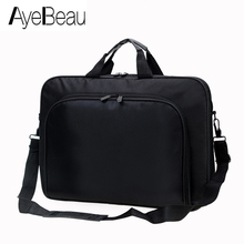 Men Briefcase Handbag Tablet Laptop Messenger-Bag Document Business Work Computer Under-Satchel