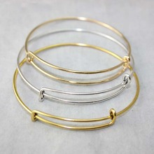 Factory Wholesale USA Cable Wire Bangle Adjustable Expandable Charm Bracelets DiY Jewelry Accessories Love Bracelet 10pcs/lot