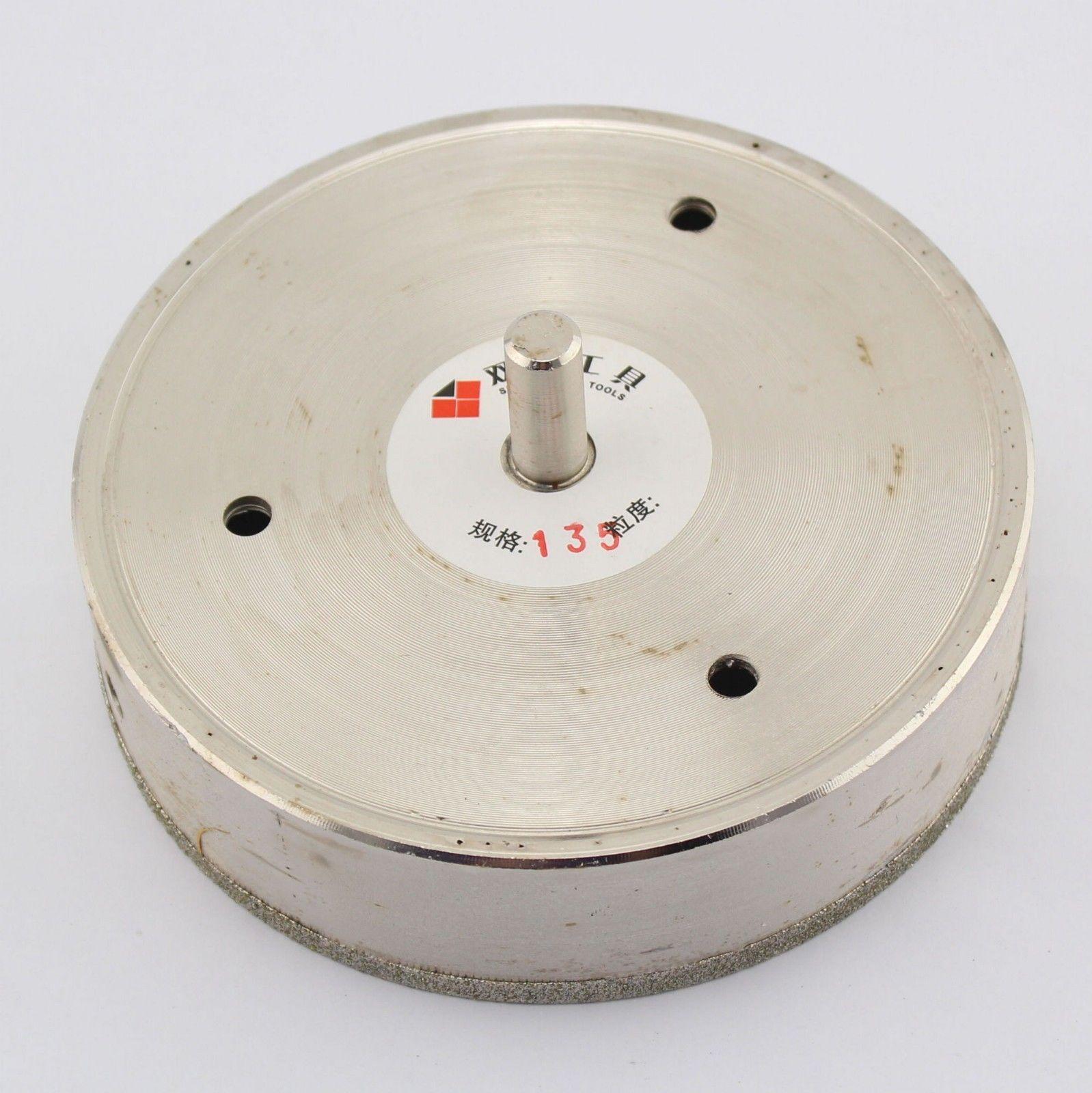 5-3/8 inch 135 mm Diamond Hole Saw Coated Drill Bit Cutter Glass Stone Ceramic ILOVETOOL<br>