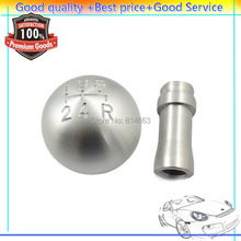 ISANCE NEW 5 Speed Shift Knob Billet Aluminum For Ford Mustang Bullitt 1983-2004,Free shipping,(HDSQFD001)Wholesale/Retail(China)