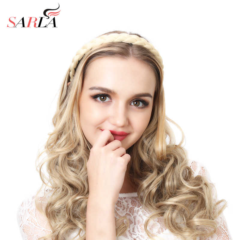 Detail Feedback Questions about SARLA Braid Hair Band Twisted Headband  Synthetic Stretch Plait Hair Elastic Band Black Blonde Hair Braid headbands  for women ... 6b4b4536f76