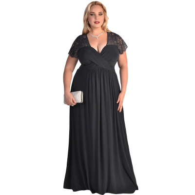 Womens Plus V-neck short Sleeve Stretch Maxi Casual Dress Size pregnant new dress clothes maternity dresses for photography 351<br><br>Aliexpress